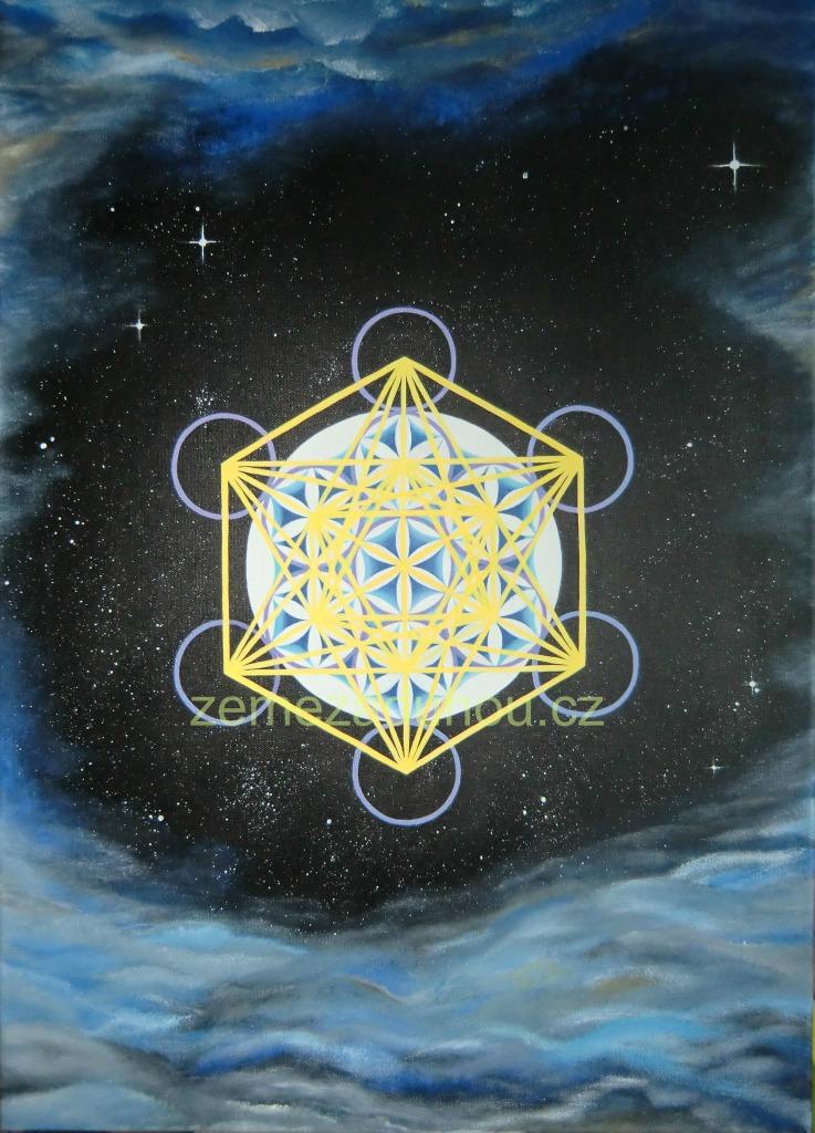 Magická Metatronova krychle