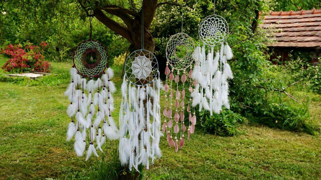 Lapače snů - ochranné amulety