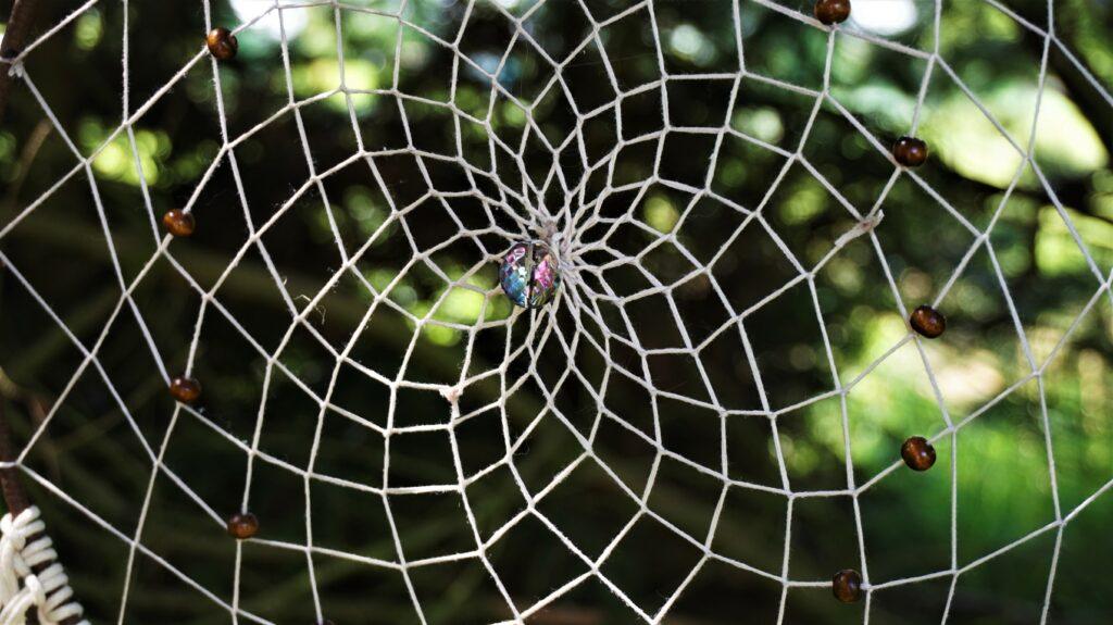 Lapač snů - pavučina